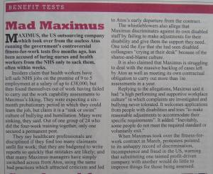 Maximus Private Eye